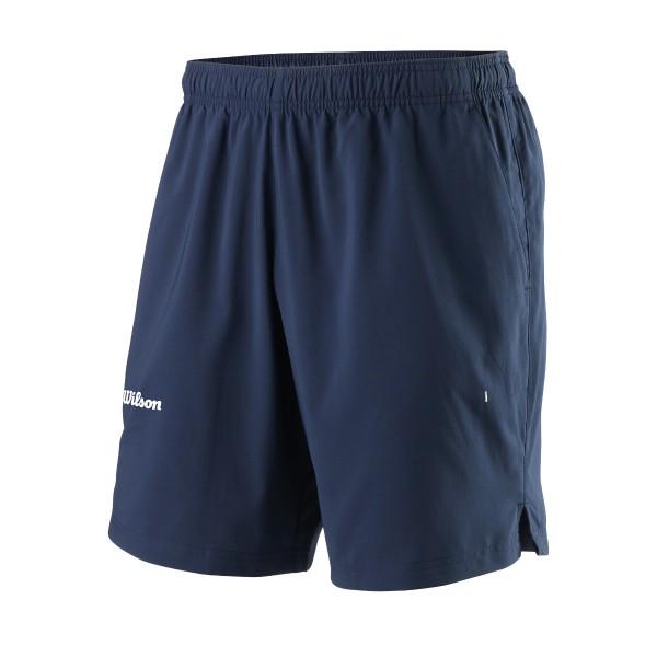 Wilson Team II 8 Short blau Tennishose