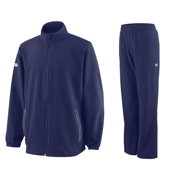 Wilson Woven Warm UP Junior blau