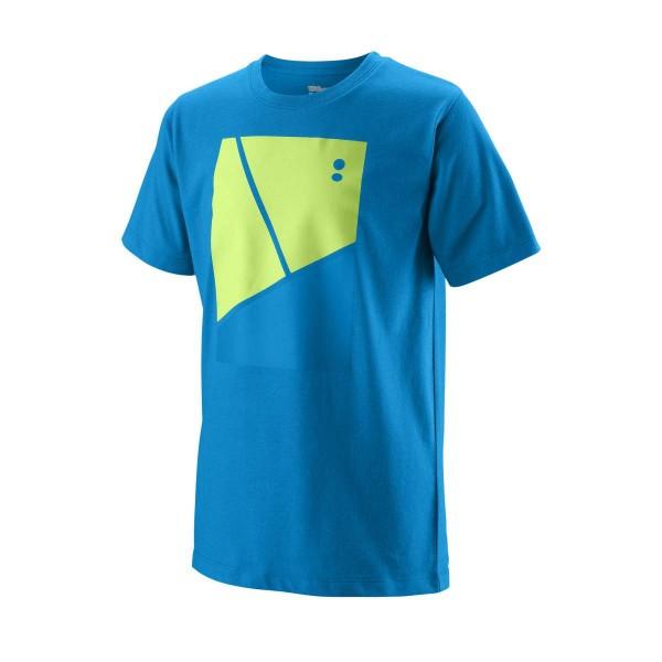 Wilson Tramline Tech Tee Boys Tennisshirt