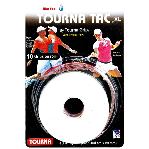 Tourna Tac 10er Grip XL weiß