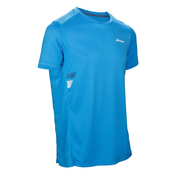 Babolat Flag Tee Shirt Boys blau