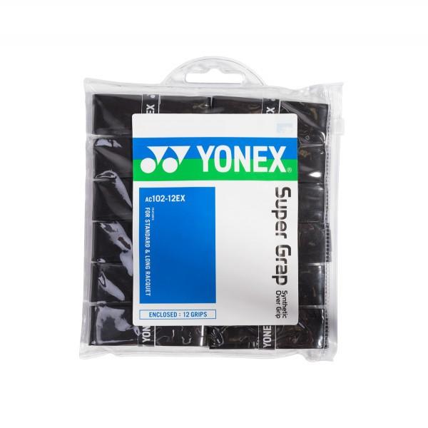 Yonex Super Grap 12er schwarz Griffbänder