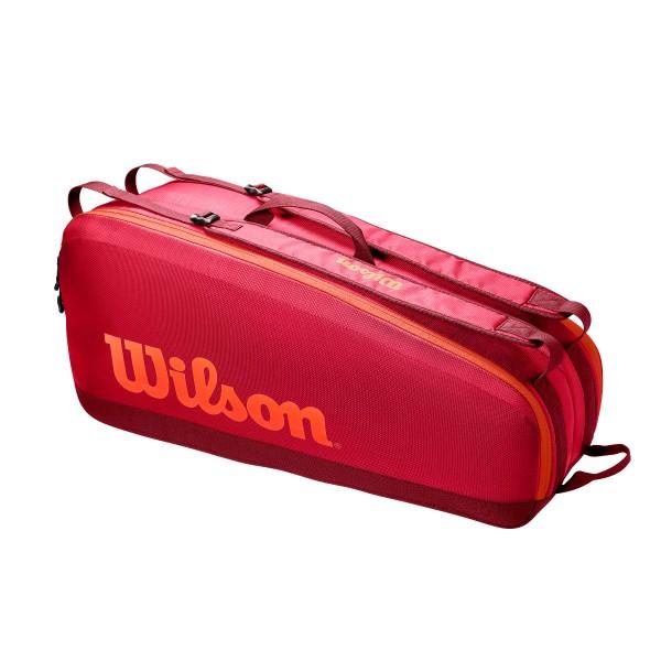 Wilson Tour 6er Bag Tennistasche rot
