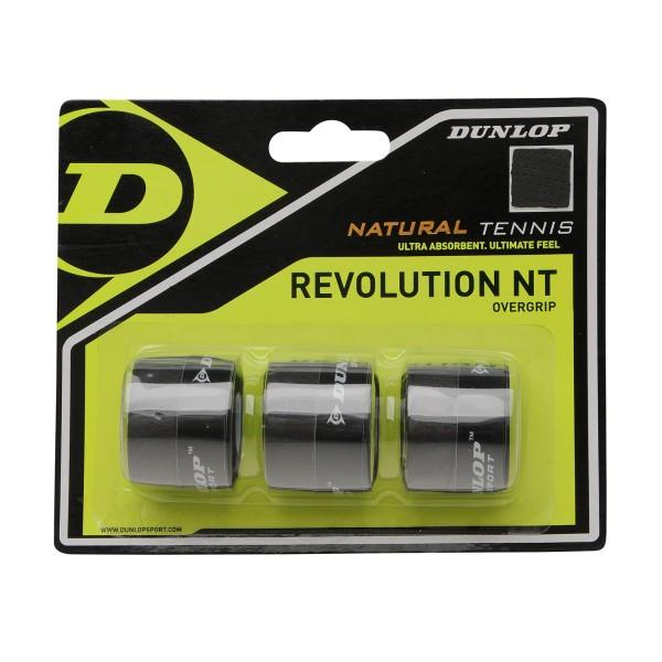 Dunlop Revolution NT 3er Overgrips schwarz