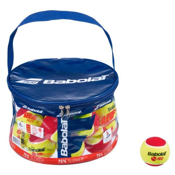 Babolat Red Felt X24 Tennisbälle