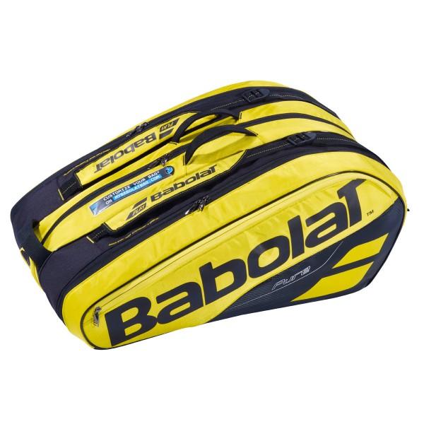 Babolat Pure Aero Racket Holder X12 gelb