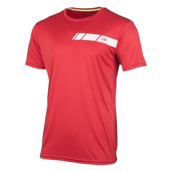 Dunlop Club Crew Tee Herren Tennisshirt rot