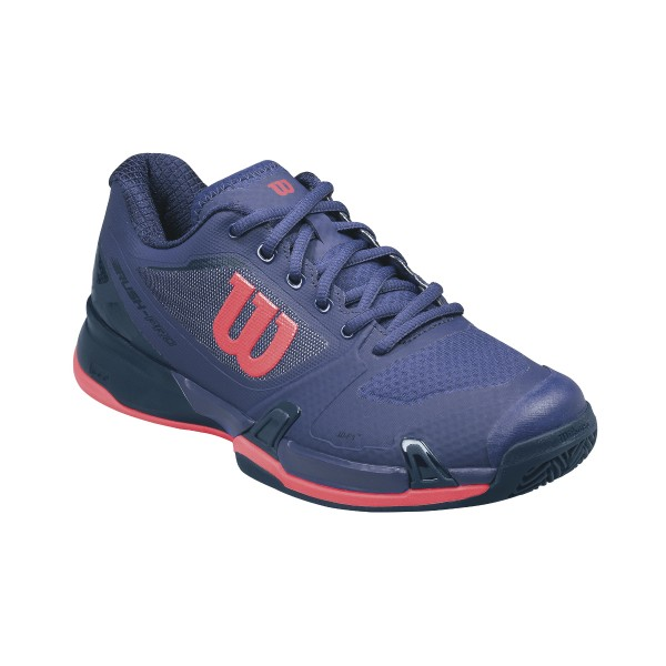 Wilson Rush Pro 2.5 Clay Tennisschuh Lila