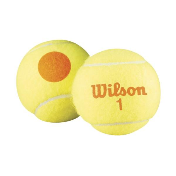 Wilson Starter orange 48er Beutel Tennisbälle