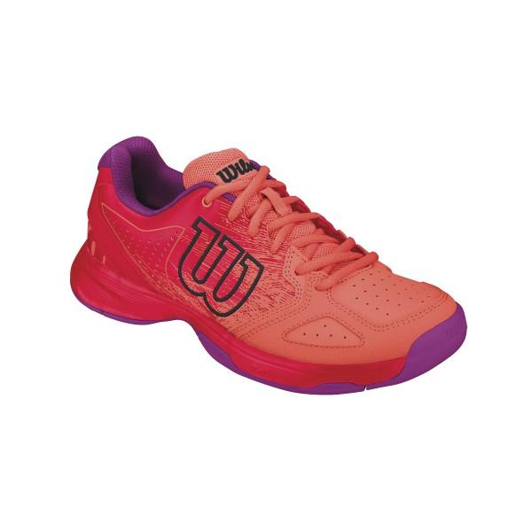 Wilson Kaos Comp Junior Tennisschuh coral