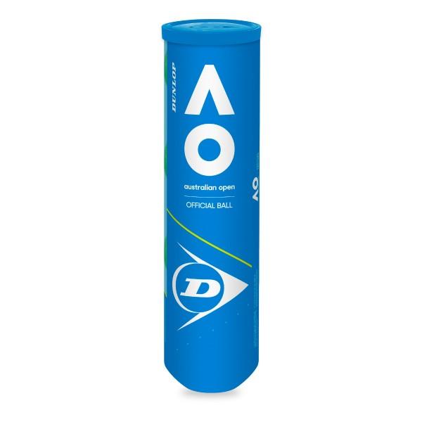 Dunlop Australien Open 4er Dose Tennisbälle