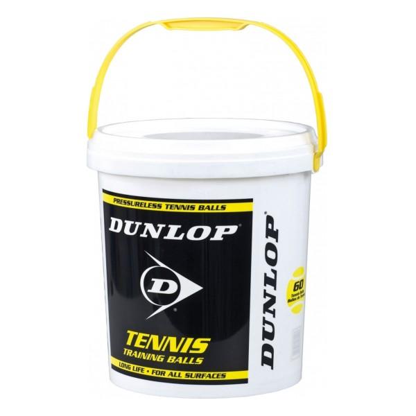 Dunlop Training 60er im Eimer Tennisbällle