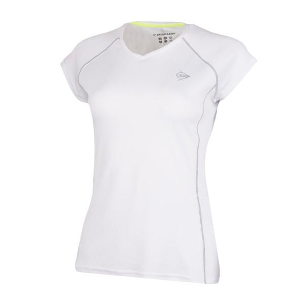 Dunlop Club Crew Girls weiß Tennisshirt