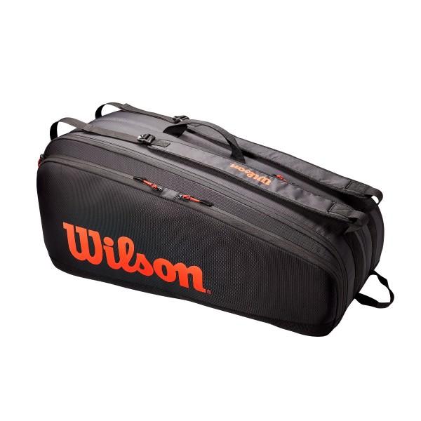 Wilson Tour 12 Pack Tennistasche schwarz