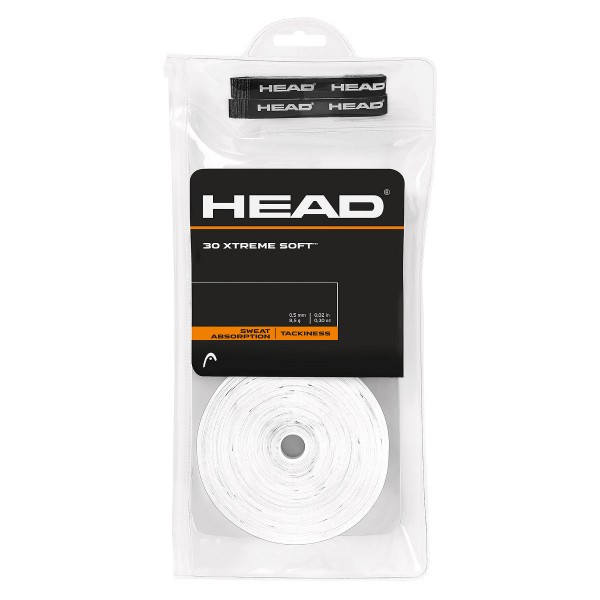 Head Xtreme Soft 30 Overgrip weiß
