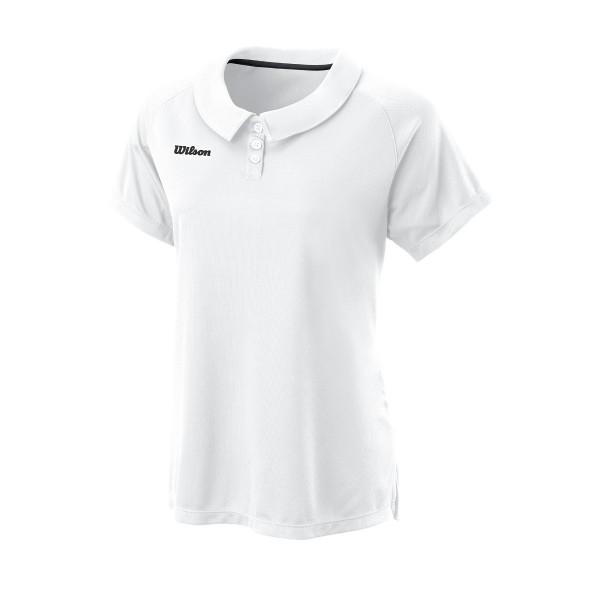 Wilson Team II Polo weiß Tennisshirt