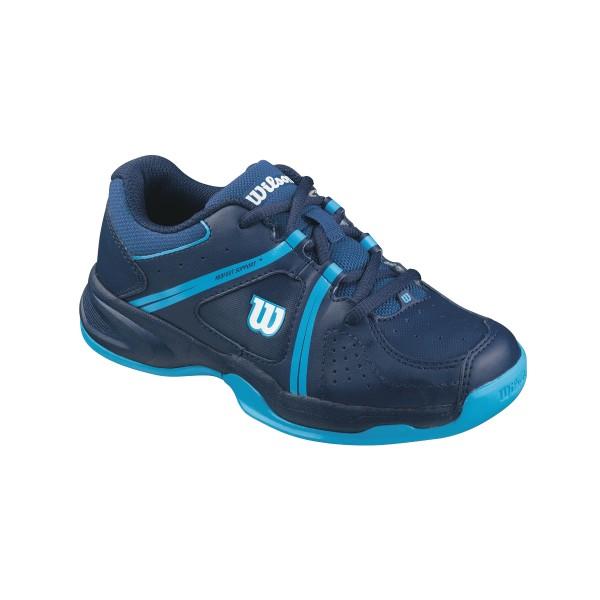 Wilson Envy Kinder Tennisschuh blau