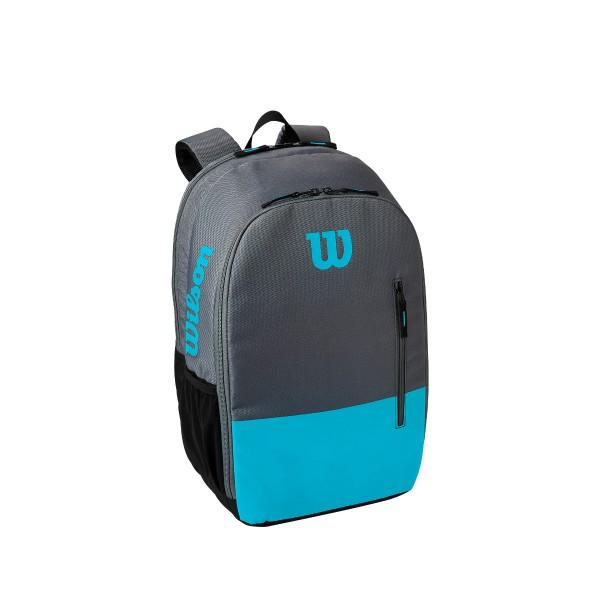 Wilson Team Backpack schwarz blau Tennisrucksack