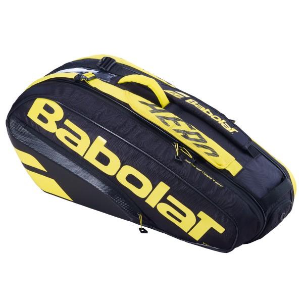 Babolat Pure Aero Racket Holder X6 schwarz Tennistasche