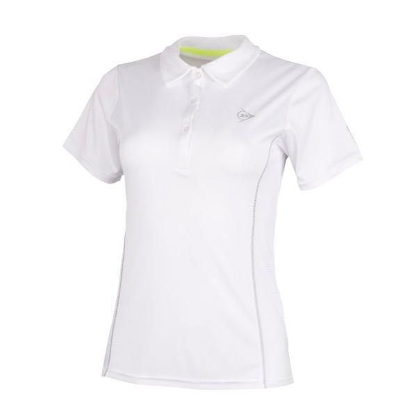 Dunlo Club Polo Damen Tennisshirt weiß