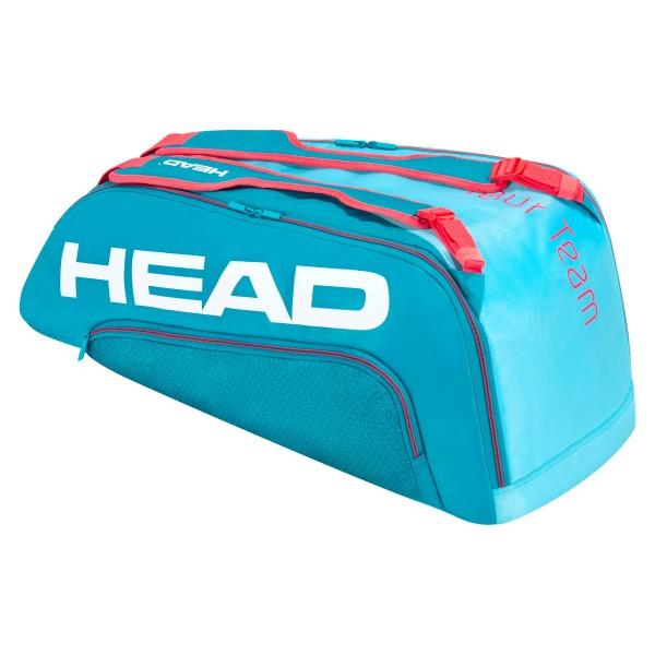 Head Tour Team 9R Supercombi Tennistasche türkis