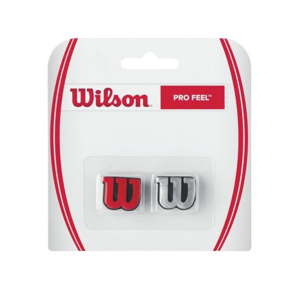Wilson Pro Feel 2er Dämpfer rot/silber