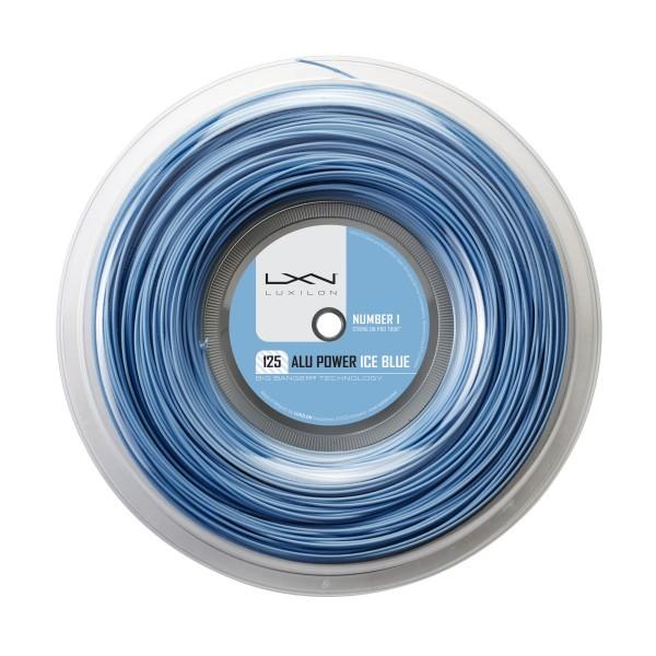 Luxilon Alu Power ice blue Saitenrolle