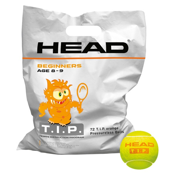 Head TIP orange Polybag Tennisbälle