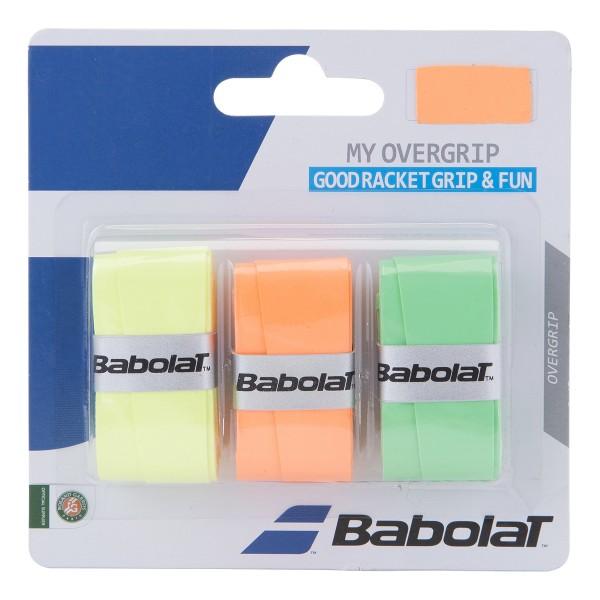 Babolat My Overgrip 3er gelb/orange/grün