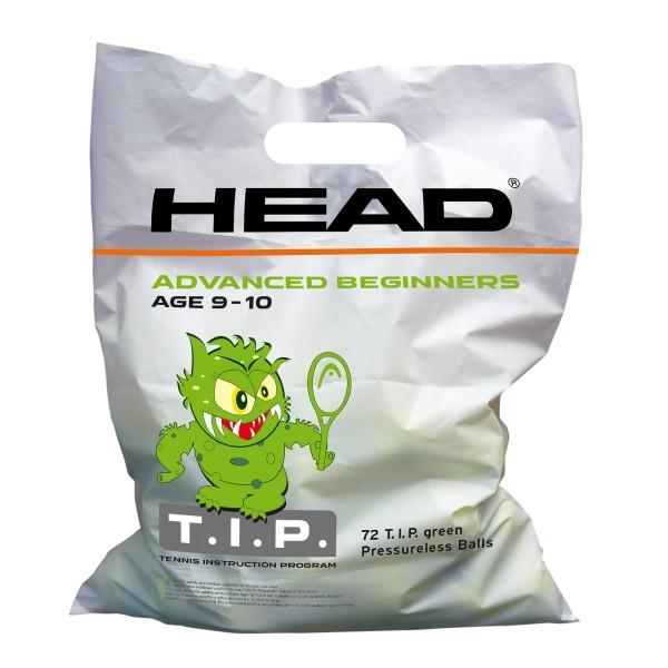 Head TIP green Polybag Tennisbälle