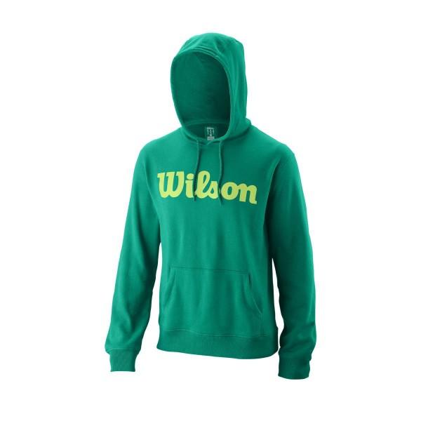 Wilson Script Cotton Hoody grün